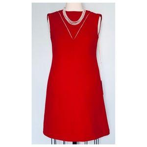 Valentino Wool & Silk Shift MiniDress 38IT/2US NWT